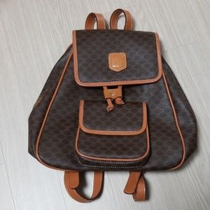 Vintage Celine Macadam backpack